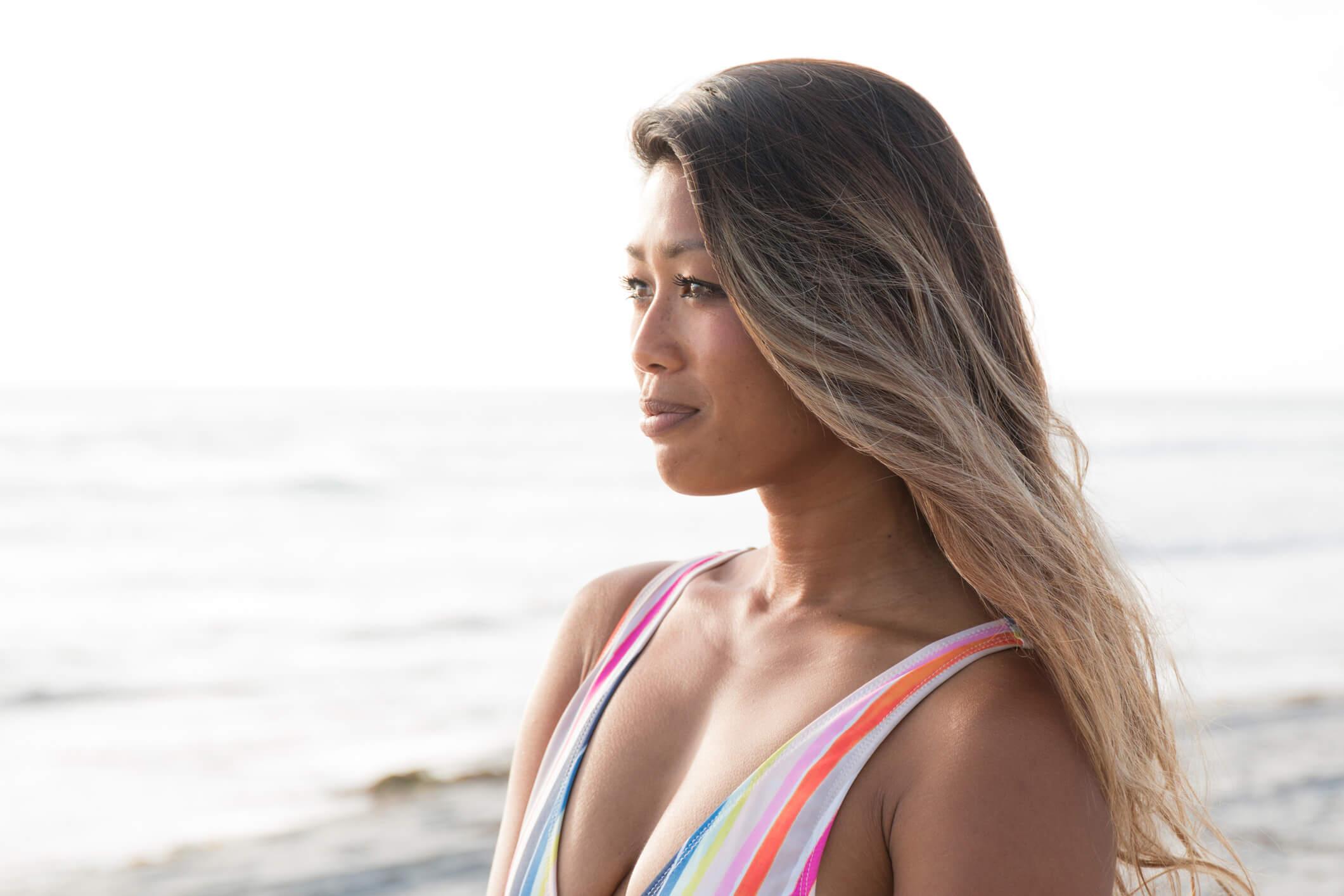 cabelo de praia